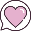 womans-day-love-message-icon